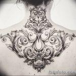 фото Тату в стиле Барокко от 09.02.2018 №090 - Baroque tattoo - tatufoto.com