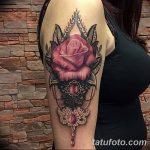 фото Тату в стиле Барокко от 09.02.2018 №092 - Baroque tattoo - tatufoto.com