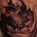 фото Тату в стиле Барокко от 09.02.2018 №094 - Baroque tattoo - tatufoto.com