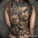 фото Тату в стиле Барокко от 09.02.2018 №099 - Baroque tattoo - tatufoto.com