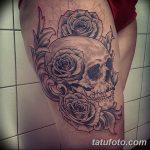 фото Тату в стиле Барокко от 09.02.2018 №107 - Baroque tattoo - tatufoto.com
