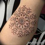 фото Тату в стиле орнаментал от 10.02.2018 №003 - Tattoo ornamental - tatufoto.com