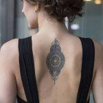 фото Тату в стиле орнаментал от 10.02.2018 №004 - Tattoo ornamental - tatufoto.com