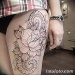 фото Тату в стиле орнаментал от 10.02.2018 №006 - Tattoo ornamental - tatufoto.com