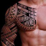 фото Тату в стиле орнаментал от 10.02.2018 №012 - Tattoo ornamental - tatufoto.com