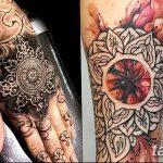 фото Тату в стиле орнаментал от 10.02.2018 №021 - Tattoo ornamental - tatufoto.com