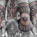 фото Тату в стиле орнаментал от 10.02.2018 №024 - Tattoo ornamental - tatufoto.com