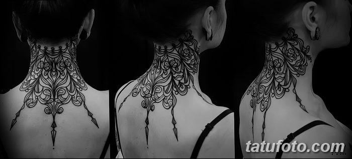 фото Тату в стиле орнаментал от 10.02.2018 №031 - Tattoo ornamental - tatufoto.com