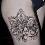 фото Тату в стиле орнаментал от 10.02.2018 №036 - Tattoo ornamental - tatufoto.com