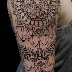 фото Тату в стиле орнаментал от 10.02.2018 №044 - Tattoo ornamental - tatufoto.com