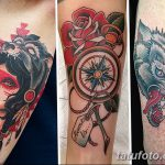 фото Тату в стиле орнаментал от 10.02.2018 №046 - Tattoo ornamental - tatufoto.com