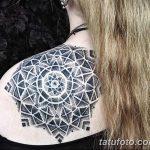 фото Тату в стиле орнаментал от 10.02.2018 №053 - Tattoo ornamental - tatufoto.com
