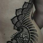 фото Тату в стиле орнаментал от 10.02.2018 №054 - Tattoo ornamental - tatufoto.com