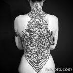 фото Тату в стиле орнаментал от 10.02.2018 №056 - Tattoo ornamental - tatufoto.com
