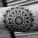 фото Тату в стиле орнаментал от 10.02.2018 №058 - Tattoo ornamental - tatufoto.com