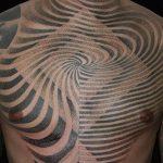 фото Тату в стиле орнаментал от 10.02.2018 №059 - Tattoo ornamental - tatufoto.com