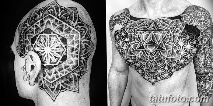 фото Тату в стиле орнаментал от 10.02.2018 №060 - Tattoo ornamental - tatufoto.com