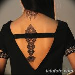 фото Тату в стиле орнаментал от 10.02.2018 №064 - Tattoo ornamental - tatufoto.com