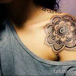 фото Тату в стиле орнаментал от 10.02.2018 №068 - Tattoo ornamental - tatufoto.com