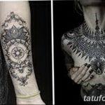 фото Тату в стиле орнаментал от 10.02.2018 №070 - Tattoo ornamental - tatufoto.com