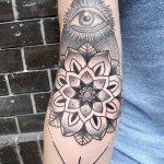 фото Тату в стиле орнаментал от 10.02.2018 №071 - Tattoo ornamental - tatufoto.com