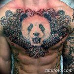 фото Тату в стиле орнаментал от 10.02.2018 №072 - Tattoo ornamental - tatufoto.com