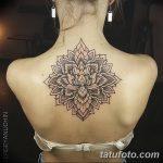 фото Тату в стиле орнаментал от 10.02.2018 №074 - Tattoo ornamental - tatufoto.com
