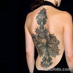 фото Тату в стиле орнаментал от 10.02.2018 №081 - Tattoo ornamental - tatufoto.com