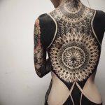 фото Тату в стиле орнаментал от 10.02.2018 №083 - Tattoo ornamental - tatufoto.com