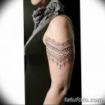 фото Тату в стиле орнаментал от 10.02.2018 №084 - Tattoo ornamental - tatufoto.com