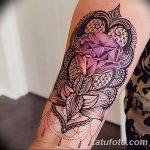 фото Тату в стиле орнаментал от 10.02.2018 №088 - Tattoo ornamental - tatufoto.com