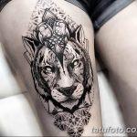 фото Тату в стиле орнаментал от 10.02.2018 №090 - Tattoo ornamental - tatufoto.com