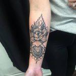 фото Тату в стиле орнаментал от 10.02.2018 №091 - Tattoo ornamental - tatufoto.com
