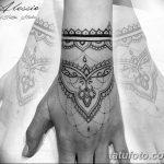 фото Тату в стиле орнаментал от 10.02.2018 №093 - Tattoo ornamental - tatufoto.com