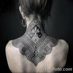 фото Тату в стиле орнаментал от 10.02.2018 №094 - Tattoo ornamental - tatufoto.com