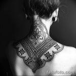 фото Тату в стиле орнаментал от 10.02.2018 №096 - Tattoo ornamental - tatufoto.com