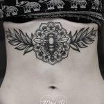 фото Тату в стиле орнаментал от 10.02.2018 №103 - Tattoo ornamental - tatufoto.com