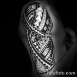 фото Тату в стиле орнаментал от 10.02.2018 №104 - Tattoo ornamental - tatufoto.com