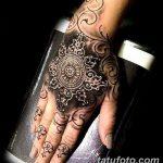 фото Тату в стиле орнаментал от 10.02.2018 №108 - Tattoo ornamental - tatufoto.com