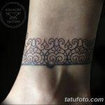 фото Тату в стиле орнаментал от 10.02.2018 №113 - Tattoo ornamental - tatufoto.com
