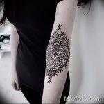 фото Тату в стиле орнаментал от 10.02.2018 №119 - Tattoo ornamental - tatufoto.com