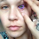 фото Тату на глазном яблоке от 13.02.2018 №025 - Eyeball tattoo - tatufoto.com