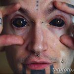 фото Тату на глазном яблоке от 13.02.2018 №028 - Eyeball tattoo - tatufoto.com