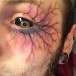 фото Тату на глазном яблоке от 13.02.2018 №031 - Eyeball tattoo - tatufoto.com