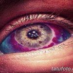 фото Тату на глазном яблоке от 13.02.2018 №066 - Eyeball tattoo - tatufoto.com