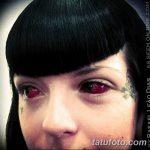 фото Тату на глазном яблоке от 13.02.2018 №073 - Eyeball tattoo - tatufoto.com