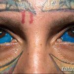 фото Тату на глазном яблоке от 13.02.2018 №083 - Eyeball tattoo - tatufoto.com