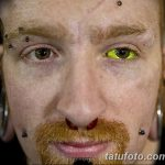 фото Тату на глазном яблоке от 13.02.2018 №102 - Eyeball tattoo - tatufoto.com