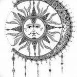 фото Эскизы тату оберегов от 17.02.2018 №023 - Sketches of tattoo amulets - tatufoto.com