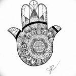 фото Эскизы тату оберегов от 17.02.2018 №028 - Sketches of tattoo amulets - tatufoto.com